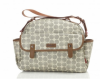 Babymel BM 9205 Molly Wickeltasche Floral Dot grey