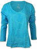 Damen Langarm Shirt Blow