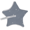Little Dutch Schnullertuch Stern Little Stars Blue