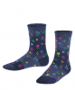 Denim Flower Kinder Socken