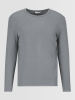 Kiefermann Sweater TOBI im Washedlook grau