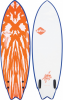 SOFTECH SOFTBOARDS MASON TWIN Surfboard 2019 neo red/white - 5,2