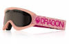 DRAGON DX Schneebrille 2019 pink/dark smoke
