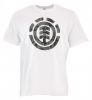 ELEMENT BARK LOGO T-Shirt 2019 optic white - L
