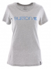 BURTON HER LOGO WH1 T-Shirt 2016 grey heather - L