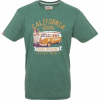 VAN ONE CLASSIC CARS LAGUNA BEACH T-Shirt new green/orange - S