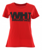 WH1 TYPO Slim Fit Lady T-Shirt red - XL