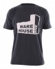 WH1 USED FACTORY Regular Fit T-Shirt charcoal - S