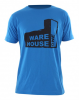 WH1 USED FACTORY Regular Fit T-Shirt electric blue - S