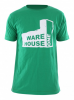 WH1 USED FACTORY Regular Fit T-Shirt kelly green - S