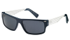SMITH EDITOR Sonnenbrille blue avio ivory/grey