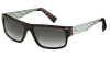 SMITH EDITOR Sonnenbrille matte burgundy green/grey