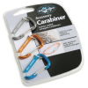 Sea to Summit Carabiner - Karabiner Dreier-Pack [Grey / Orange / Blue]