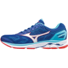 Mizuno Wave Rider 21 - Laufschuh Men [SurftheWeb/Whi/Poppy Red] (Größe: (UK) 7 - EU 40,5 CM 26)