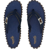 Gumbies Australian Shoes Dark Denim - Zehenstegsandale Women [Twin Palms] (Größe: 45)