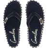 Gumbies Australian Shoes Black - Zehenstegsandale Women [Black] (Größe: 45)