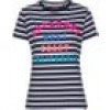 Superdry T-Shirt WEST COAST STRIPE ENTRY TEE