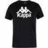 Kappa  T-Shirt Herren Authentisches Estessi T-Shirt, Schwarz