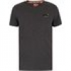 Superdry  T-Shirt Herren Vintage Stickerei T-Shirt, Grau