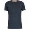Superdry  T-Shirt Herren Vintage Stickerei T-Shirt, Blau