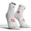 Compressport  Socken Racing Socks V3.0 Run Hi Smart White