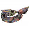Fraas Colour Paisley 3 in 1 Headband Stirnband Tuch Damentuch Sommertuch Accessoire