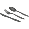 GSI Geschirr 3 Pc Ring Cutlery Grey