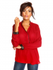 Scarlet Jones Bluse ´´Amour´´ in Bordeaux - 79% | Größe L | Damen blusen