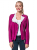 FREAKY NATION Lederjacke ´´Blow up 3´´ in Fuchsia - 77% | Größe 40 | Damenjacken