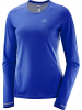 SALOMON Funktionsshirt ´´Agile´´ in Blau - 53% | Größe XL | Damen outdoor tops shirts