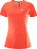 SALOMON Funktionsshirt ´´Agile Heather´´ in Orange - 49% | Größe XS | Damen outdoor tops shirts