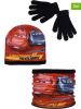 Disney Cars 3tlg. Winterset ´´Cars´´ in Rot - 68% | Größe 52 cm | Kindermuetzen
