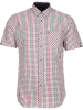 Ben Sherman Hemd ´´SS House Check´´ - Regular Fit - in Dunkelblau - 64% | Größe M | Herrenhemden