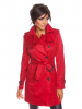 Scarlet Jones Trenchcoat ´´Angela´´ in Bordeaux - 74% | Größe M | Damenjacken