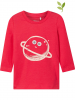 Name it Longsleeve ´´Renata´´ in Rot - 46% | Größe 56 | Baby shirts