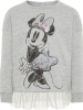 Name it Sweatshirt ´´Minnie´´ in Grau - 45% | Größe 86 | Kinderpullover strick