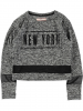 Cars Sweatshirt ´´Newyo´´ in Grau - 74% | Größe 128 | Kinderpullover strick