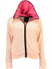 Geographical Norway Sweatjacke ´´Gaelle´´ in Rosa - 64% | Größe XXL | Damenpullover