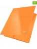 Leitz 2er-Set: Eckspannermappen ´´Wow´´ in Orange - A4 - 65% | Buero schulbedarf