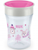 NUK Trinklernbecher ´´Magic Cup Winter Edition´´ in Rosa - 230 ml - 20% | Baby ernaehrung