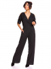 Saint Germain Paris Jumpsuit ´´Angela´´ in Schwarz - 72% | Größe M | Damenhosen