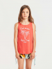 Billabong Top ´´Billie Swing´´ in Rot - 52% | Größe 140 | Kinder oberteile