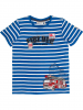 Salt and Pepper Shirt ´´Fire´´ in Blau - 46% | Größe 116/122 | Kinder oberteile