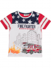 Salt and Pepper Shirt ´´Fire´´ in Weiß - 42% | Größe 128/134 | Kinder oberteile