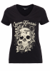 QueenKerosin Print-Shirt Skull