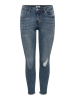 Only Hush Mid Ankle Skinny Fit Jeans