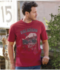 T-Shirt mit Colorado-Aufdruck herren Atlas for Men rot - Größe XXXL