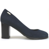 Mario Cerruti Pumps pumps blau wildleder AM763