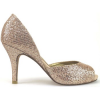 Haute Couture Pumps pumps gold textil AM866