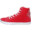 Ciaboo Turnschuhe sneakers rot segeltuch AX21